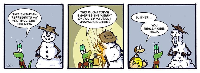 Blowtorch Metaphor